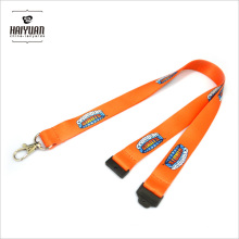 Eco-Friendly Full Color Printing Polyester Lanyard with Safety Breakaway