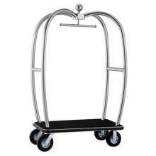 Carro de equipaje de acero inoxidable (DF80)