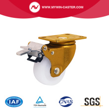 Bremse Swivel Nylon Rad industrielle Caster