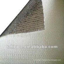 Thermal insulation aluminized fiberglass fabric