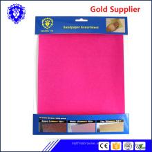 papel de lija / papel abrasivo / hoja de lija para metal / madera