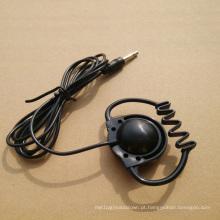 Único fone de ouvido, fone de ouvido de reunião, fone de ouvido Earhook