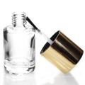 custom made 5ml-15ml cylinder empty nail polish bottle with brush