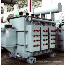 ONAF OLTC 6300KVA/35KV electroslag remelting furnace transformer a