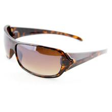 Crystal Brown Tortoise Polarized Fashion Sports Sunglasses for Women (91001)