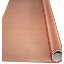 150 235 mesh Malla de alambre tejida de cobre rojo puro para la conducción eléctrica