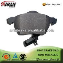 D840 Passat B5 almohadilla de freno baja del metal del envío libre