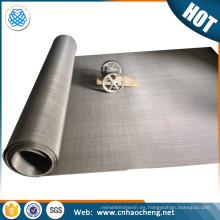 Garantía de comercio 430 precio neto de malla de alambre de acero inoxidable magnético flexible por metro