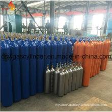 99,9% N2O-Gas gefüllt in 2L Zylindergas mit Ventil