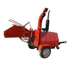 40HP motor Diesel remolque montado burilador de madera