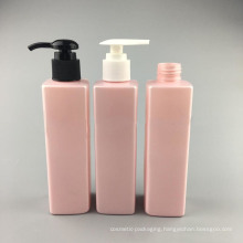 200ml Quadrangular Plastic Lotion Bottle for Perfume (NB18904)