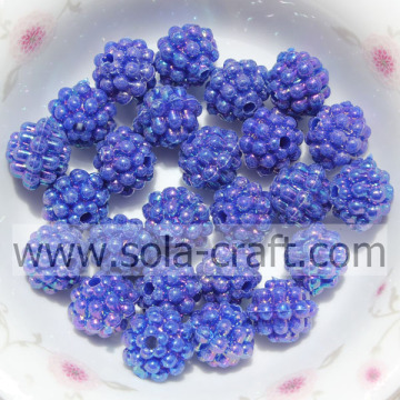 Beads Beads Imitation Online Opax di colore blu