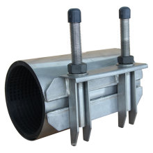 Abrazadera de reparación de acero inoxidable