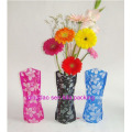 Customize Plastic Foldable Flower Vases