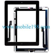 OEM Touch Screen Digitizer para iPad 4 Black Repuestos