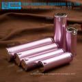 Venda por atacado de boa qualidade bela dupla camadas cristalinas embalagens de cosméticos plástica acrílica high-end