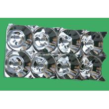 LED de galvanização UV revestimento plástico luz refletor
