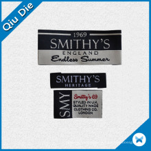 High Quality Custom Woven Label with Clothing Brand