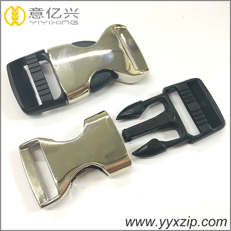 Metal Insert Buckle for Lanyard