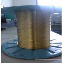 0.25mm de caucho manguera de refuerzo de latón recubierto de alambre de acero