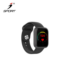 IP68 Waterproof Activity Tracking Heart Rate and Blood Pressure Monitor Smart Watch Sport Bracelet for Men