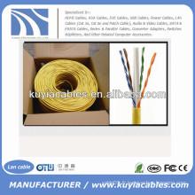 1000 Ft CCA CAT6 Solid UTP Ethernet câble réseau en vrac Câble