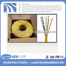 1000 Ft CCA CAT6 Твердотельный UTP Ethernet для массового сетевого кабеля