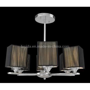 Cloth Shade European Pendant Lamp/Chandelier (P-8116/6)