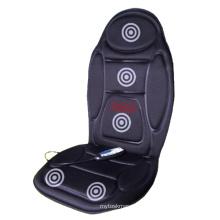 Electric Neck Shoulder Massage Mattress Pad Vibration Heat Car Massage Cushion