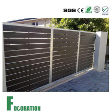 Weather Resistant Outdoor Garden WPC Fence Gate & Patition