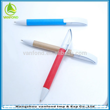 100% biodegradable material paper ballpoint pen