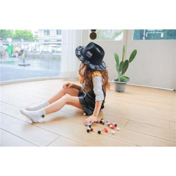 Jugar con bolas ---- Little Girl Lovely Cozy Ball algodón calcetines Moda y calcetines hermosos