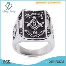 Mens Masonic Ring Square G & Pillars Master Mason Degree Rare Jewelry