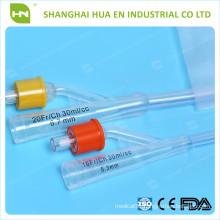 High Quality 16-24FR Silicone Foley Catheter