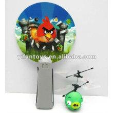 Neuankömmling! Mini-Flyer, Cartoon fliegenden Kugeln, rc Vögel mit LED-Licht