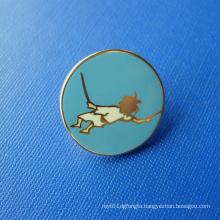 Gold Plated Soft Enamel Lapel Pin, Custom Badge (GZHY-SE-036)