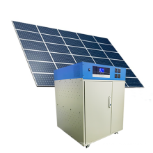 Roof 5KW solar system power bank with battery