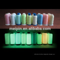 hilo de coser fosforescente hilo de coser luminoso