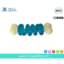 Nylon com TPR Dog Bone Pet Toy