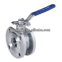 Wafer Ball Valve with ISO 5211 Direct Mounting Pad