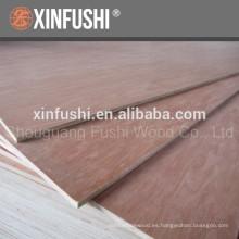 Pintado de color rojo Contrachapado de madera dura