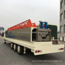 sanxing curving roof k q span panel roll forming machine 914-700