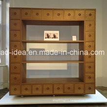 Rotatable Innovative Wooden Cabinet Display/ Practical Wooden Display