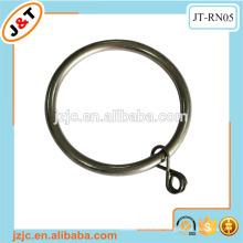 Venta al por mayor anillo de cortina de 50 mm, anillos de ojal de plástico de cortina