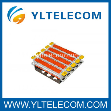 Tyco Quick Connect System Cat.5 QCS 50 Pair Block 2810 IDC Modulo Toolless di connessione