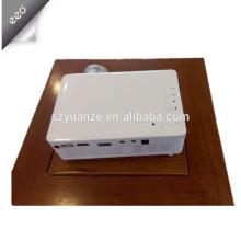 Projetor led barato 100 lúmens com AV / VGA / HDMI / US / SD para Negócios / Casa / Educação
