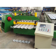 Cheap Coated Corrugated Sheet Metal Steel Sheet Making Machine , Aluminium Roof Sheet Making Machinery