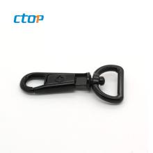 Hot sale factory custom black trigger safety bag professional plastic snap hook snap hook for bag snap hooks