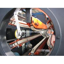 Machine de tuyau de griffe de PVC pp PE six au large de la machine