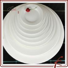 Белое керамическое блюдо-сервировочное блюдо